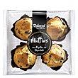 Muffins con pepitas de chocolate 300 G 300 g Dulcesol