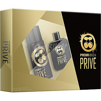 PACHA IBIZA Privé eau de toilette masculina + desodorante spray 150 ml spray 50 ml