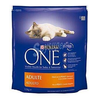Purina One Comida para gatos con Pollo 1,5 kg