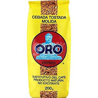 Diet Rádisson Oro cebada tostada molida sustituto del café no excitante Paquete 200 g