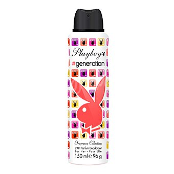 Playboy Fragrances Desodorante en spray Generation 150 ml