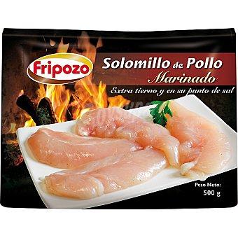 FRIPOZO solomillo de pollo marinado  estuche 500 g