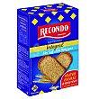 Pan tostado integral sin sal y sin azúcar bienestar Caja 270 g Recondo