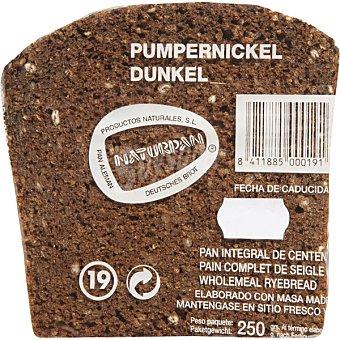Naturpan pan negro de centeno Unidad 250 g