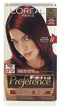 Power Feria color booster P67 scarlet