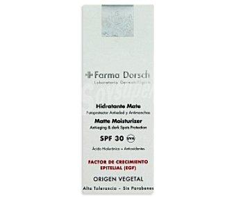 Farma Dorsch Crema hidratante antiedad y antimanchas SPF30 + EFG farma dorsch 50ml