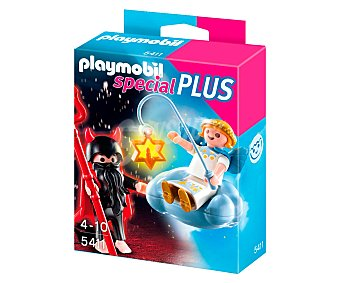 PLAYMOBIL Figuras Special Plus ángel y Demonio con accesorios, modelo 5411 1 unidad