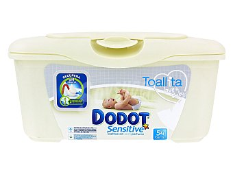 Dodot Sensitive Toallitas Sensitive Caja 54 unid