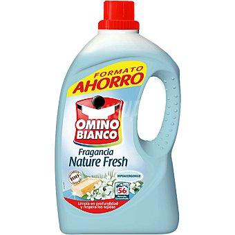 Omino Bianco Detergente máquina líquido Nature Fresh botella 56 dosis formato ahorro Botella 56 dosis