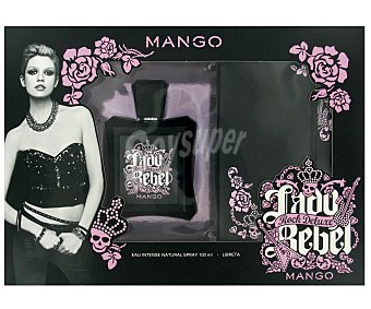 LADY REBEL ROCK Estuche Colonia Mujer: Colonia 100ml+ Libreta 1u