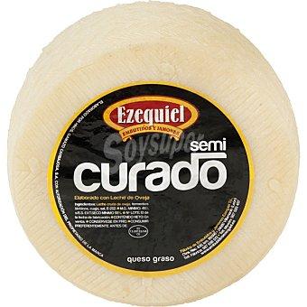 Ezequiel queso de oveja semicurado peso aproximado pieza 1,2 kg