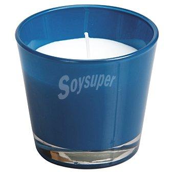 SPAAS Vela Perfumada en vaso cónico en color turquesa