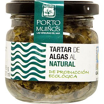Porto Muiños Tartar de algas al natural de producción ecológica lata 180 g