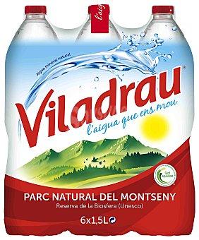 Viladrau Agua mineral natural Pack 6x1,5 litros
