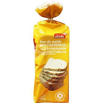Aliada pan de molde integral multicereales con 5 cereales y semillas Bolsa 475 g
