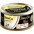 SHINY CAT alimento húmedo para gatos filetes de pollo envase 70 g envase 70 g Gimpet