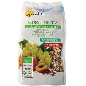 Special Line Bio muesli con frutas ecologico sin azucar añadido  bolsa 500 g