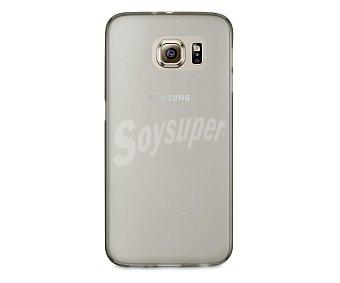 Muvit Carcasa trasera Thingel, negra, para Samsung Galaxy S6