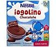 Postre lácteo de chocolate Pack 4 envase 100 g Iogolino Nestlé