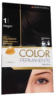 Deliplus Tinte coloracion permanente Nº 1 negro u
