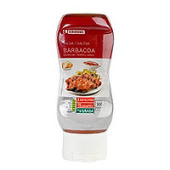 Eroski Salsa barbacoa Bote 300 g