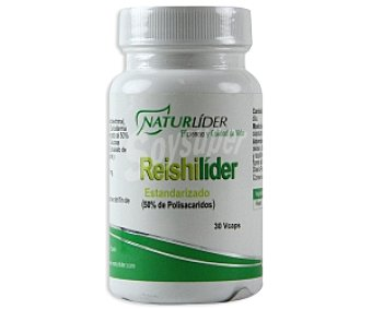 NATURLIDER Complemento alimenticio Reishilider estandarizado(50% Polisacáridos) 30 C