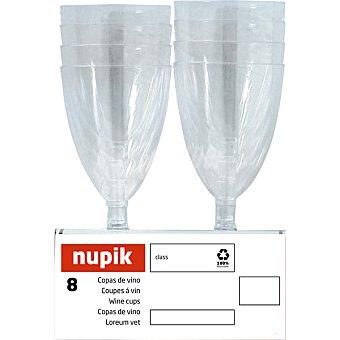 Nupik Copa de vino paquete 8 unidades 17 cl