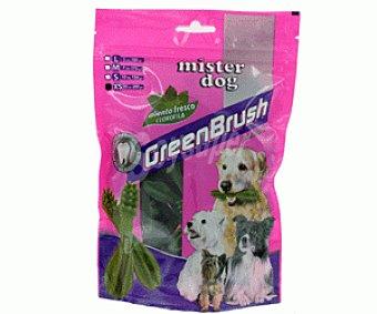 Mister dog Snack para Perros Dental Green 25 Unidades de 8 Gramos