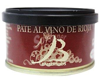 Bueyo Paté ibérico al vino Rioja 100 Gramos