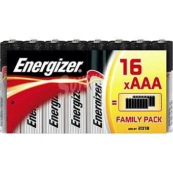 Energizer LR03 AAA pilas alcalinas pack familiar 16 unidades 16 unidades