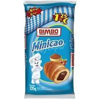 Bimbo Minicao relleno de chocolate 5 unid