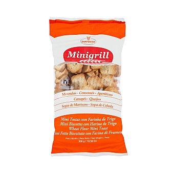 Minigrill Pan tostado blanco biscote mini Paquete 300 g