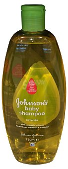 Johnson's Baby Champú cabello niños camomila Botella 750 cc