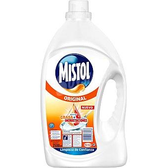 Mistol Lavavajillas a mano diluido Original Botella 3,5 l