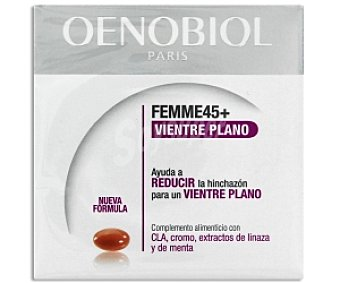 OENOBIOL Complemento alimenticio con cla, Cromo y extractos de linaza y menta, 60c