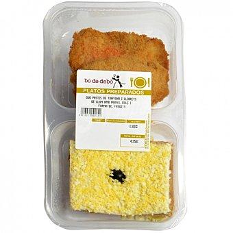 Bo de Debò Duo pastel atún y librito jamon y queso 300 G 300 g