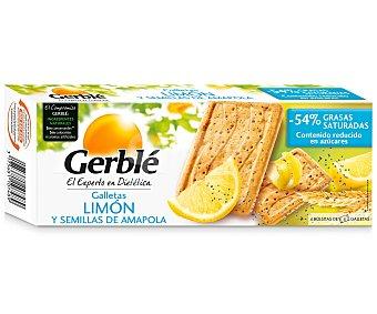 Gerblé Galletas limón y amapola 200 Gramos