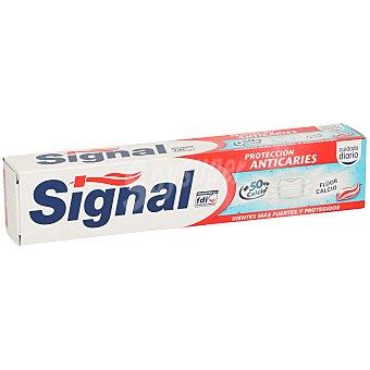 Signal Pasta dentífrica protección anticaries flúor y calcio Tubo 75 ml
