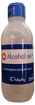 Deliplus Alcohol etilico 96 grados Botella 250 cc