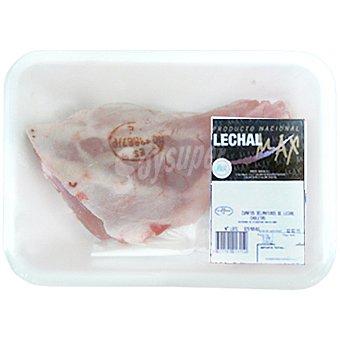 LECHALMAX Cordero lechal pierna peso aproximado bandeja 600 g 1 unidad