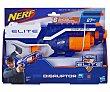 Pistola lanzadora de dardos Nerf Disruptor con 6 dardos de foam inlcuidos nerf con 6 dardos de foam inlcuidos nerf  Elite