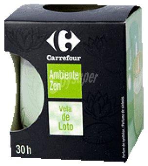 Carrefour Cera perfumada loto 1 envase de cera