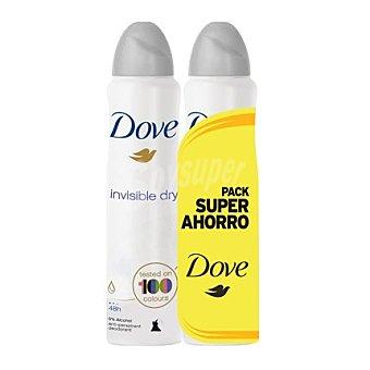 Dove Desodorante aero invisible Pack 2x200 ml