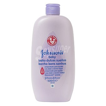 Johnson's Baby Jabón liquido dulces sueños para bebé Bote 500 ml