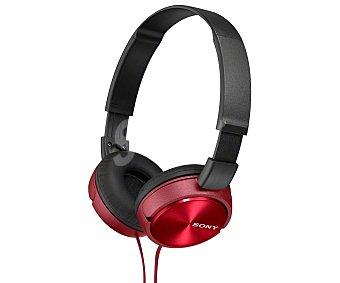 Sony Auriculares tipo casco MDRZX310R rojo DJ, con cable 1,2 metros rojo DJ, con cable 1,2 metros