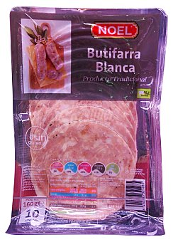 Noel Butifarra blanca lonchas Paquete 160 g