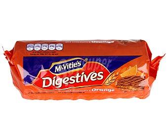 McVities Galletas de chocolate con leche y naranja 300 gramos