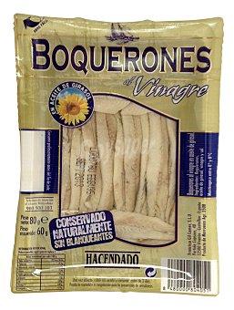 Hacendado Boquerones al vinagre Paquete 60 g escurrido