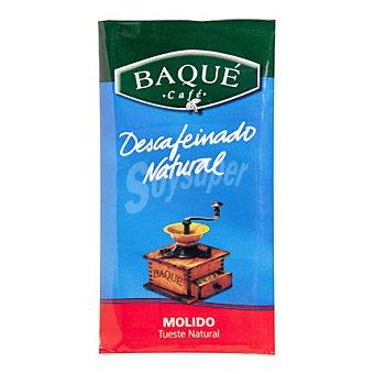 Baqué Café descafeinado natural molido 250 g