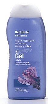 ROMERO Y SALVIA Gel baño piel normal relajante esencias lavanda Deliplus